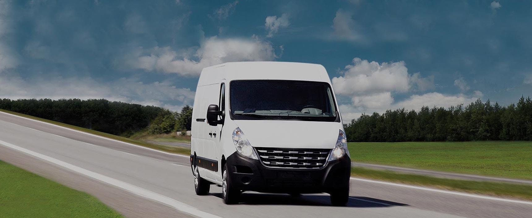 Trasporti dedicati con furgone